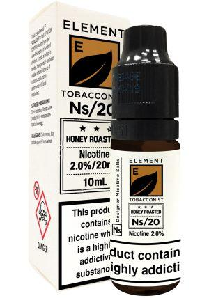 element honey roasted tobacco e-liquid